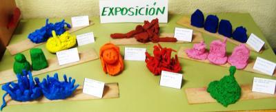 EXPOSICIÓN DE CREACIONES  REALIZADAS EN PAREJAS Y TRÍOS