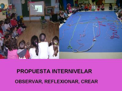 INSPIRÁNDONOS EN PICASSO, PROPUESTA INTERNIVELAR CON CUERDAS